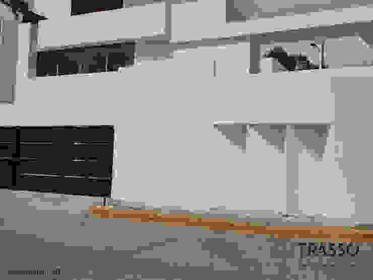 CASAS CD.SATELITE: Casas unifamiliares de estilo  por TRASSO ATELIER,