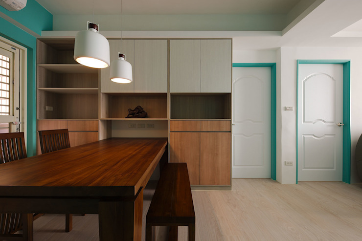 湛藍 文青樂居 根據 邑舍室內裝修設計工程有限公司 北歐風