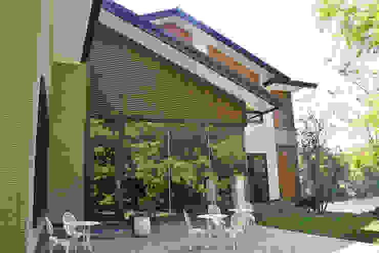 花蓮雲山水 鋼骨結構 翔霖營造有限公司 商業空間 鐵/鋼 Wood effect