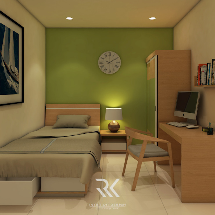 Bedroom by RK Interior Design,