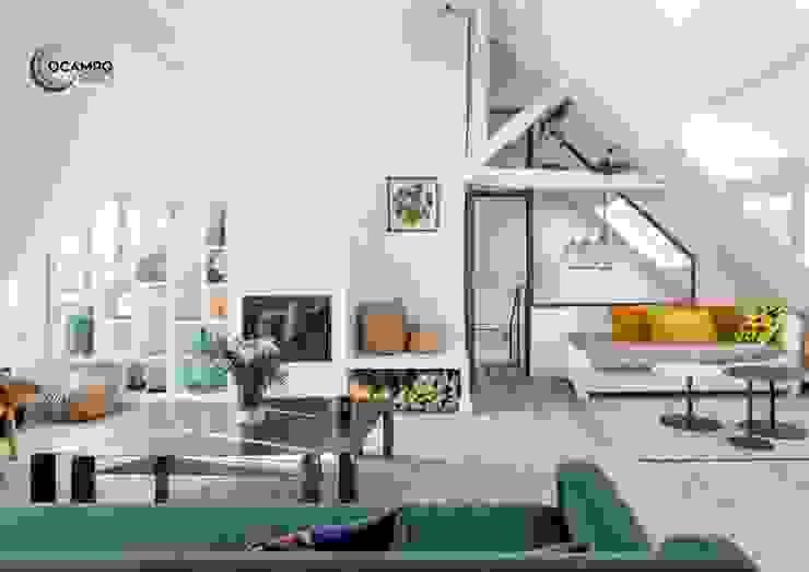 Modern Living Room by Ocampo pro Modern