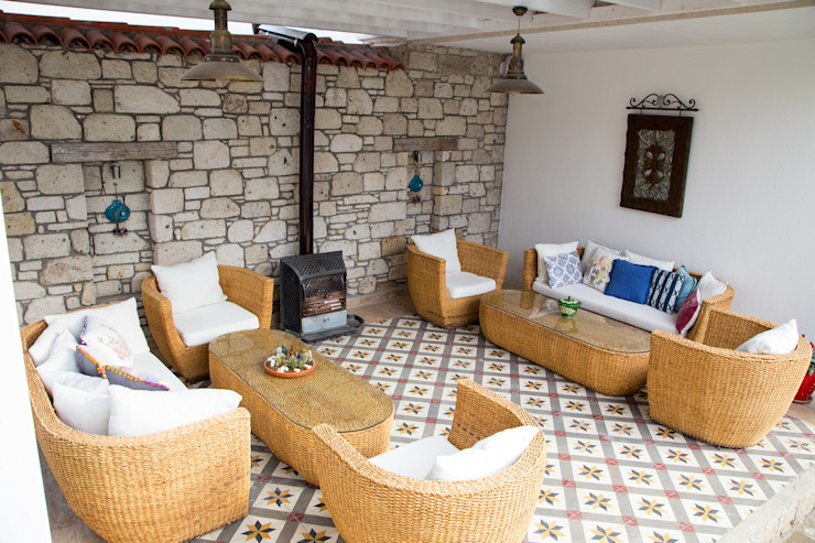 Hotel in Alacati by KAROİSTANBUL KAROİSTANBUL Planchers