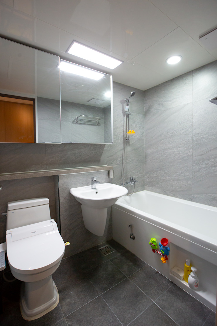 욕실인테리어 모던스타일 욕실 by 다빈710 모던