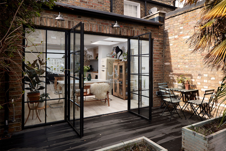 Home Extension by Urbanist Architecture Scandinavian Glass