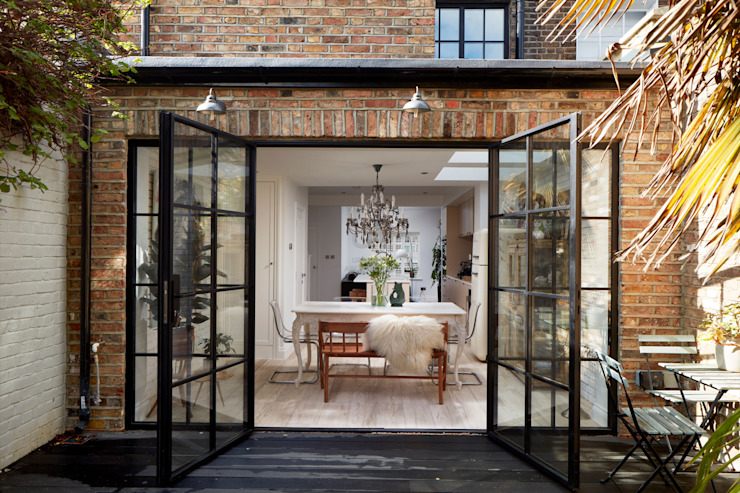 Home Extension Modern dining room by Urbanist Architecture Modern Glass