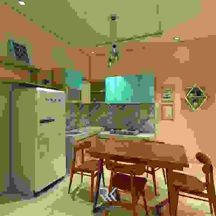 Desain Dapur Mr. Ruli - Kutoarjo Oleh RK Interior Design Skandinavia