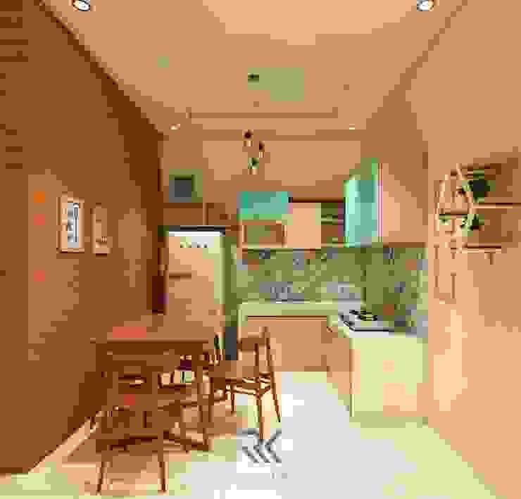 Desain Dapur Mr. Ruli – Kutoarjo Oleh RK Interior Design Skandinavia