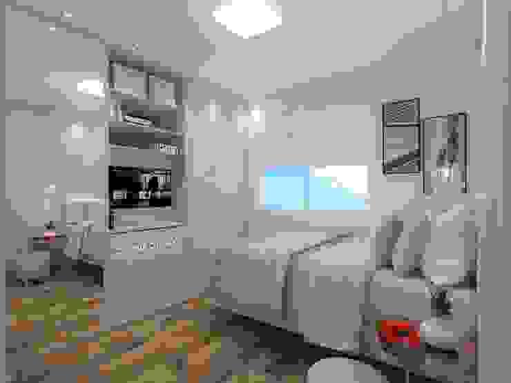 Dormitorios de estilo minimalista de Sph Interiores Minimalista