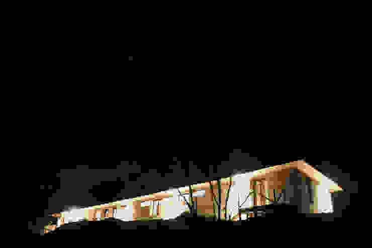 CASA MALLARAUCO - diseño y construcción - Mallarauco / Melipilla / Santiago ALIWEN arquitectura & construcción sustentable - Santiago Casas estilo moderno: ideas, arquitectura e imágenes