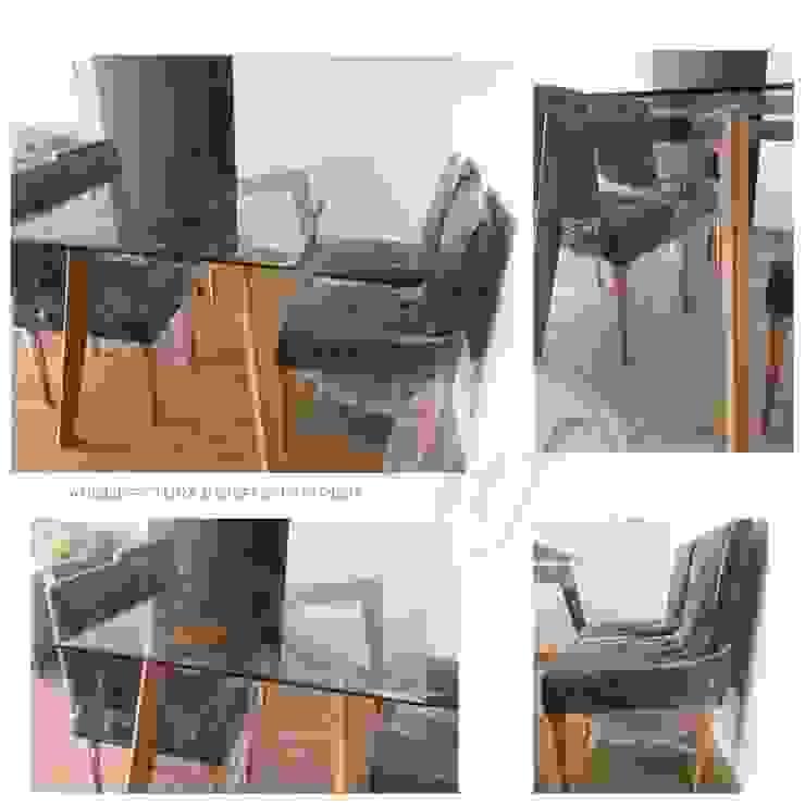 PROYECTO EXCELLENCE - COMEDOR Comedores de estilo escandinavo de NF Diseño de Interiores Escandinavo