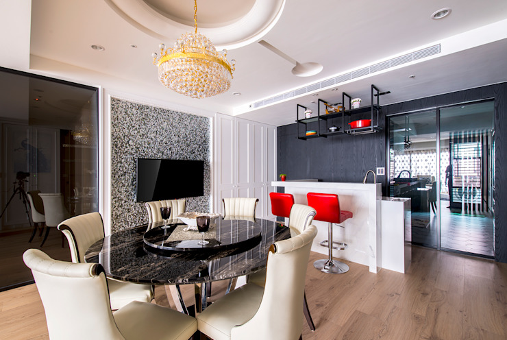 典雅鄉村-霞公錧 根據 富亞室內裝修設計工程有限公司 鄉村風 磁磚