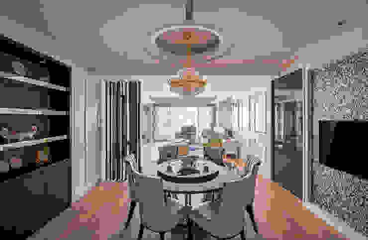 典雅鄉村-霞公錧 根據 富亞室內裝修設計工程有限公司 鄉村風 合板