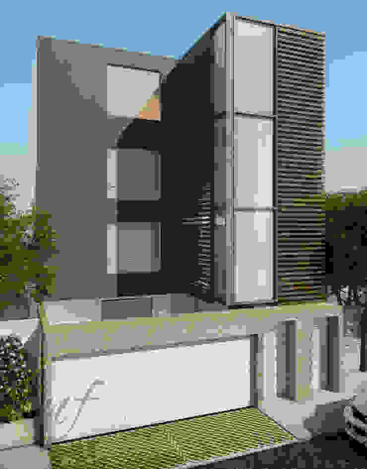 PROYECTO MULTIFAMILIAR Casas modernas: Ideas, diseños y decoración de NF Diseño de Interiores Moderno
