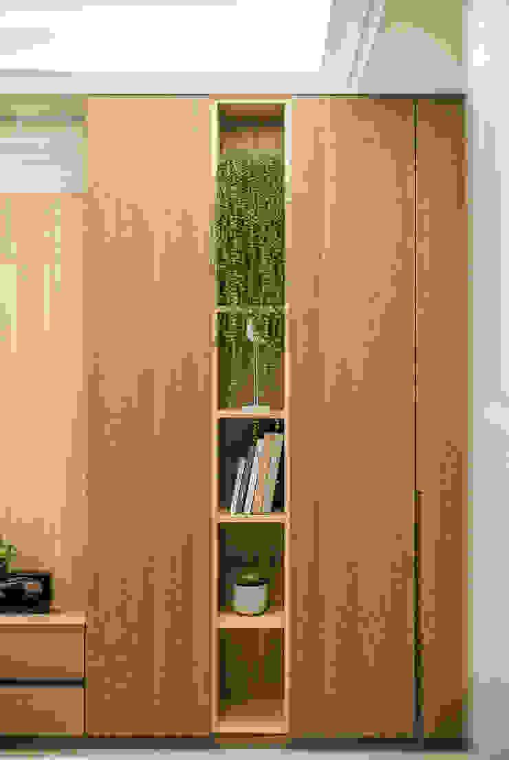 都會的鄉村風-富都新紳 根據 富亞室內裝修設計工程有限公司 簡約風 實木 Multicolored