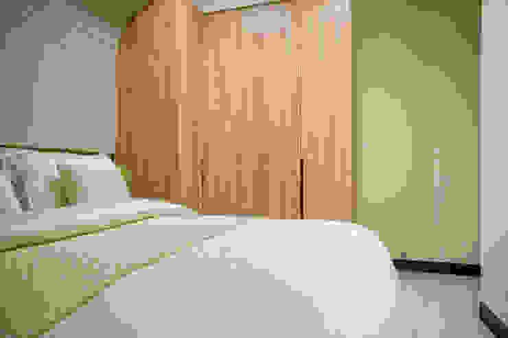 都會的鄉村風-富都新紳 根據 富亞室內裝修設計工程有限公司 現代風 實木 Multicolored