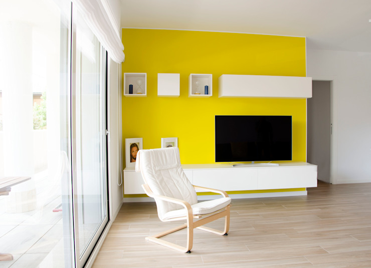 BIANCOACOLORI Minimalist living room