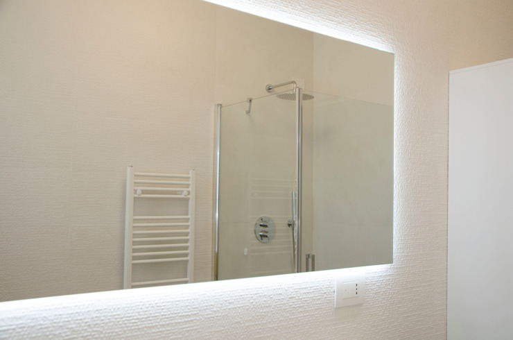 BIANCOACOLORI Minimalist style bathroom