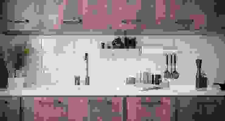 Pratika sottopensile Cucina moderna di Damiano Latini srl Moderno Alluminio / Zinco