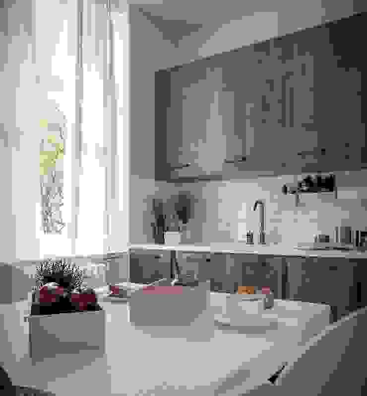 Pratika accessori cucina Cucina moderna di Damiano Latini srl Moderno Alluminio / Zinco