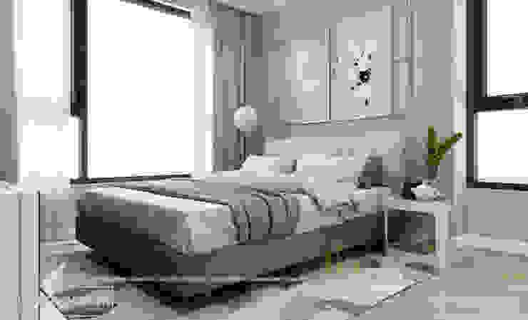 Phòng ngủ con gái bởi Thiết kế - Nội thất - Dominer