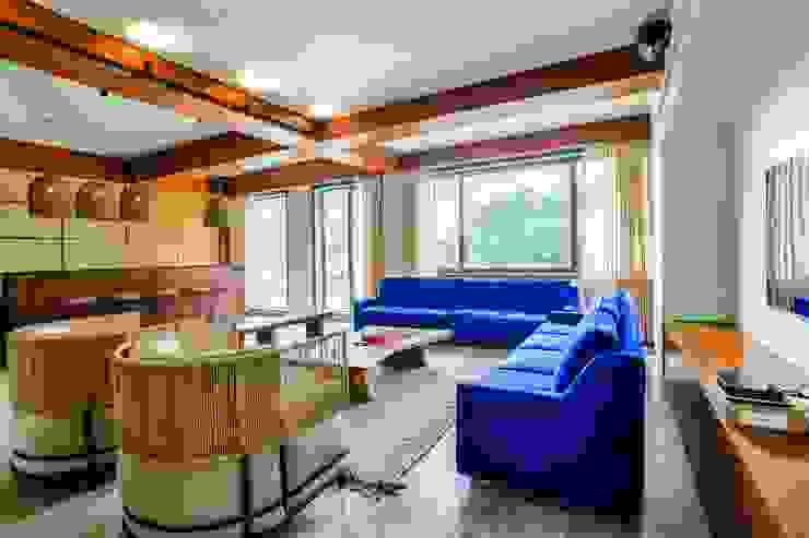 Lounge Josmo Studio Modern wine cellar