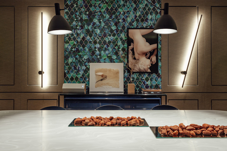 Johnny Thomsen Arquitetura e Design Modern dining room
