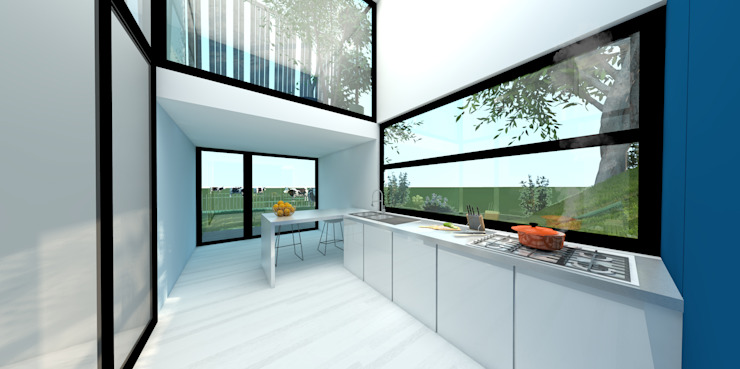 Dinges Design Dapur Modern Kaca