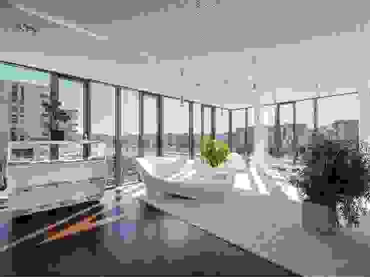 Get together Area / Kommunikationszone / Rückzugsort / Wartebereich :  Bürogebäude von Kaldma Interiors - Interior Design aus Karlsruhe,Modern