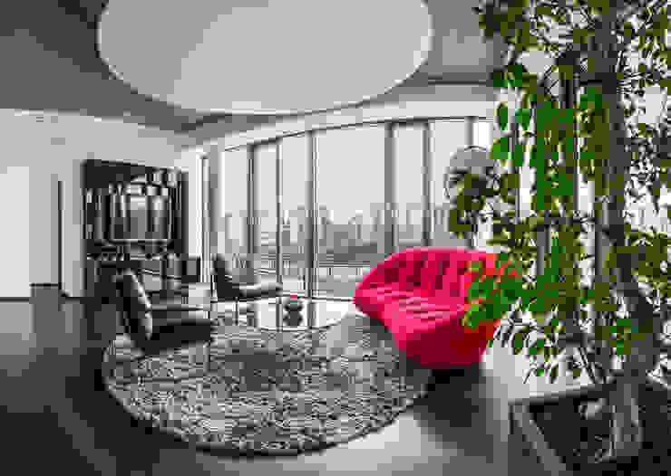 Meetingraum Geschäftsleitung Moderne Bürogebäude von Kaldma Interiors - Interior Design aus Karlsruhe Modern