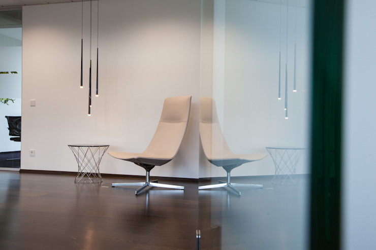 Wartebereich Moderne Bürogebäude von Kaldma Interiors - Interior Design aus Karlsruhe Modern