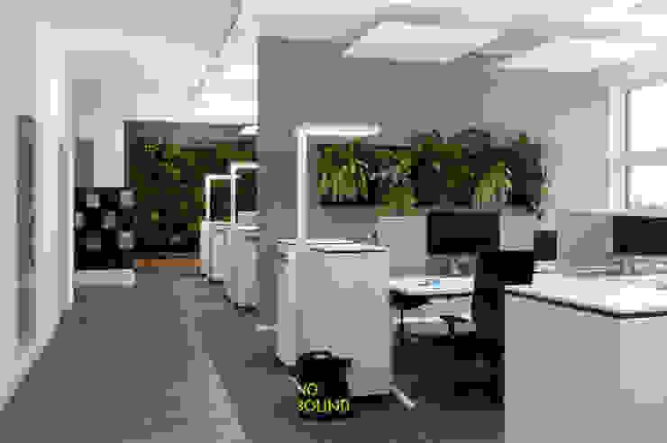 Arbeiten im Open Space Ausgefallene Bürogebäude von Kaldma Interiors - Interior Design aus Karlsruhe Ausgefallen
