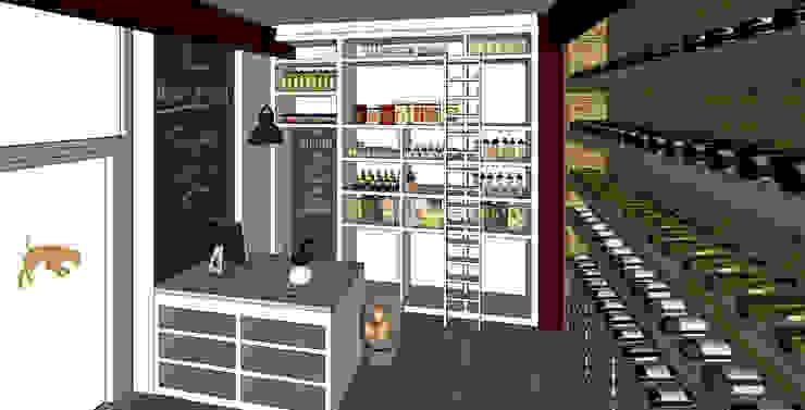 Konzeptarbeit Trüffel Store Ladengeschäft von Kaldma Interiors - Interior Design aus Karlsruhe