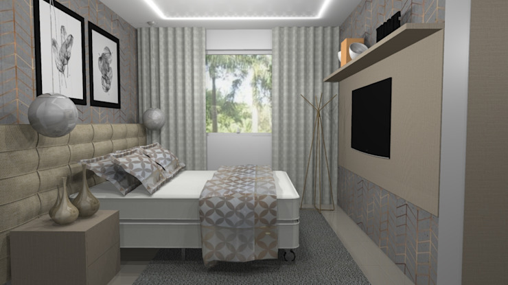 More Home Modern style bedroom