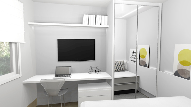 Спальня в эклектичном стиле от More Home Эклектичный