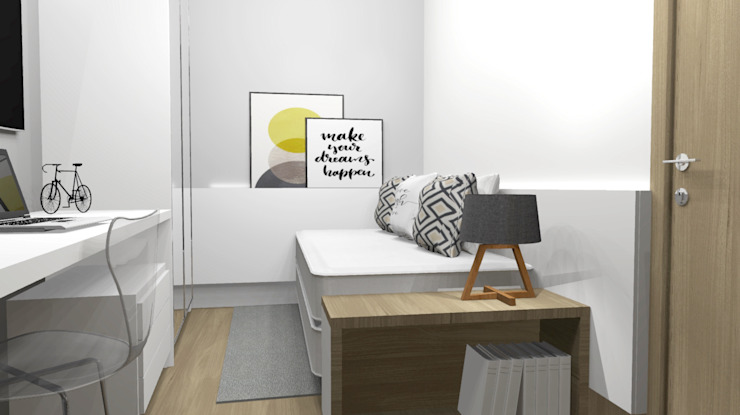 More Home Eclectic style bedroom