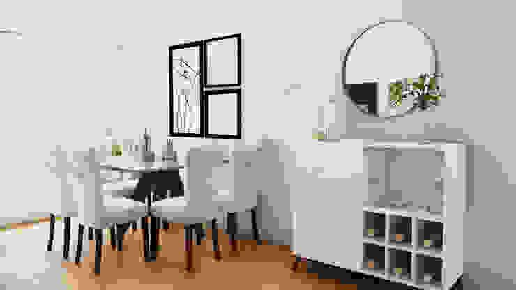 Modern living room by NF Diseño de Interiores Modern