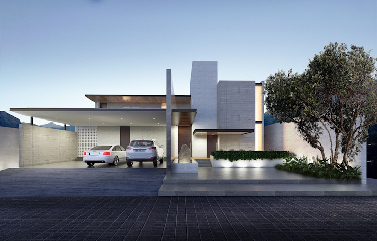 by OTRA ARQUITECTURA S.C. Modern