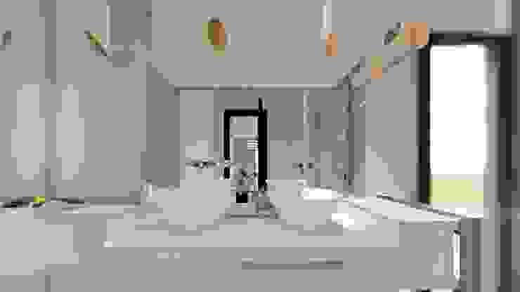 Baños de estilo minimalista de Luis Barberis Arquitectos Minimalista