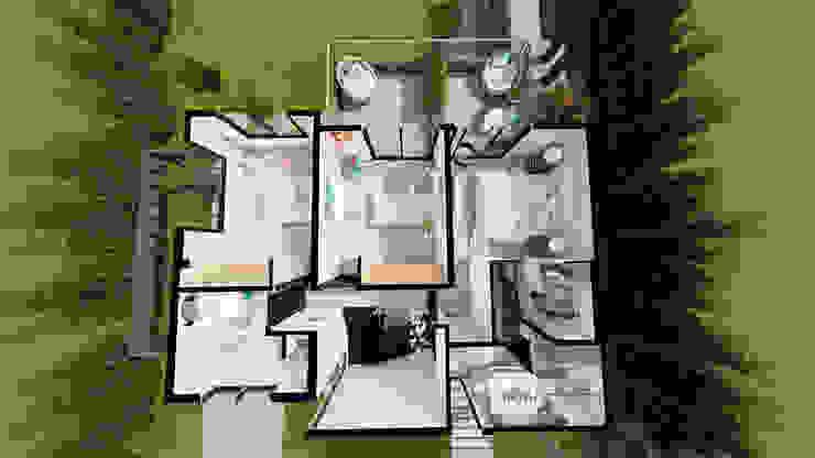 de Luis Barberis Arquitectos Minimalista
