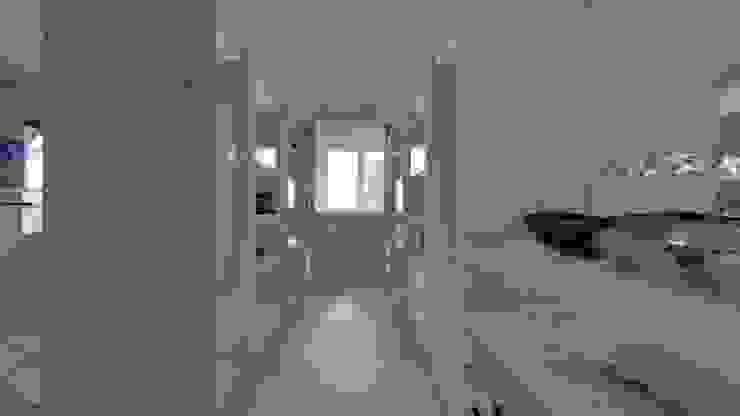 Casa MPSA Luis Barberis Arquitectos Vestidores y placares minimalistas