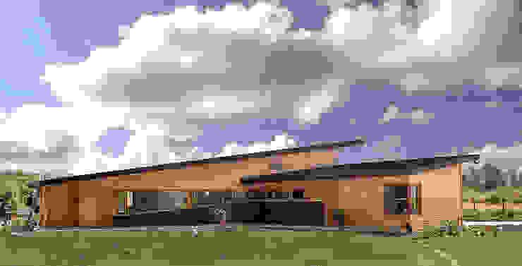 Casa Palote, Limache Casas de estilo rústico de Intermedio Arquitectos Rústico Madera maciza Multicolor