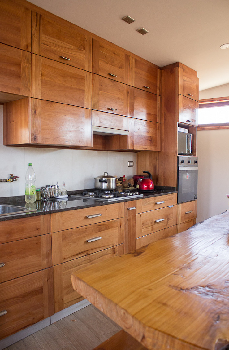 Cocina Cocinas de estilo rústico de Intermedio Arquitectos Rústico