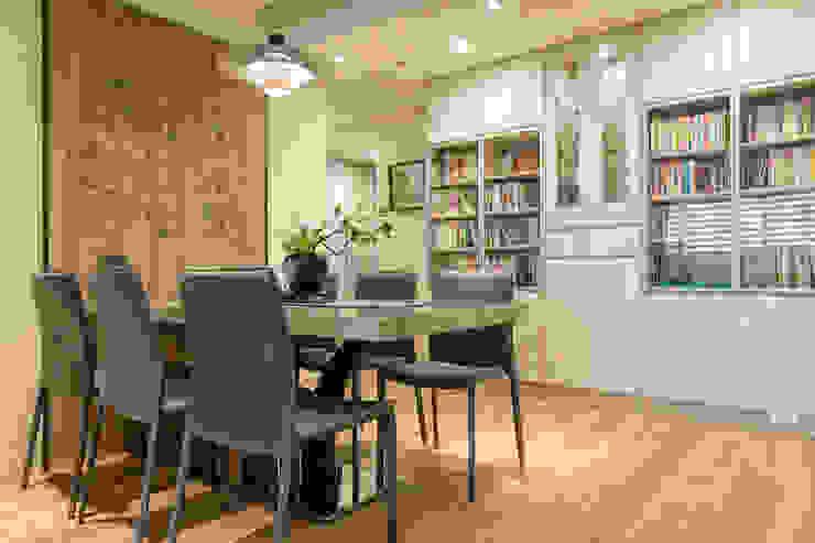 自然質樸-翊盛新天地 富亞室內裝修設計工程有限公司 餐廳 MDF Beige
