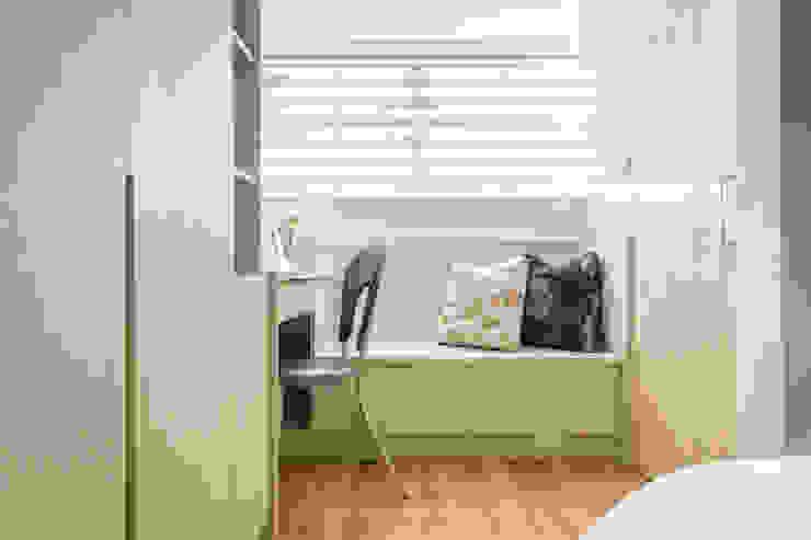 自然質樸-翊盛新天地 富亞室內裝修設計工程有限公司 小臥室 MDF Beige