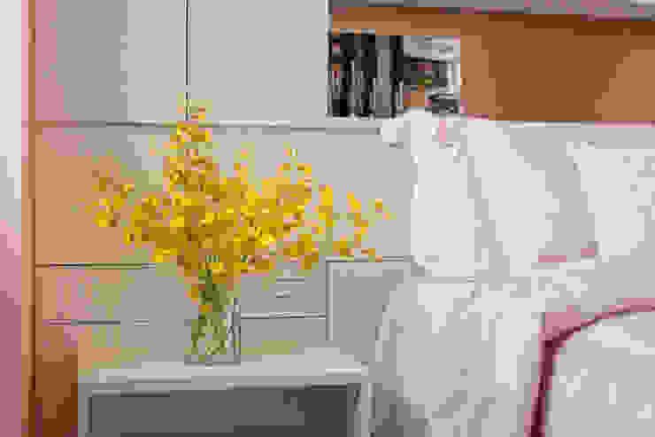自然質樸-翊盛新天地 富亞室內裝修設計工程有限公司 小臥室 MDF White