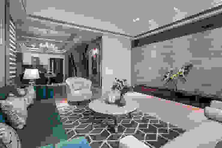 良勳建設-蕾夢湖/卡諾瓦莊園 SING萬寶隆空間設計 客廳