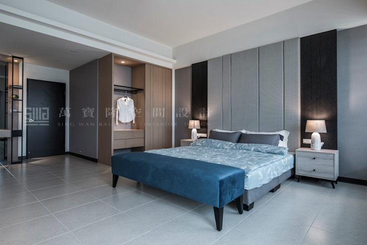 良勳建設-蕾夢湖/卡諾瓦莊園 SING萬寶隆空間設計 臥室