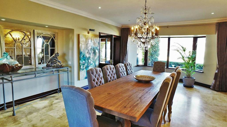 Country style dining room by JSD Interiors Country