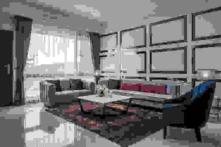 良勳建設/蕾夢湖-富麗古典 SING萬寶隆空間設計 客廳