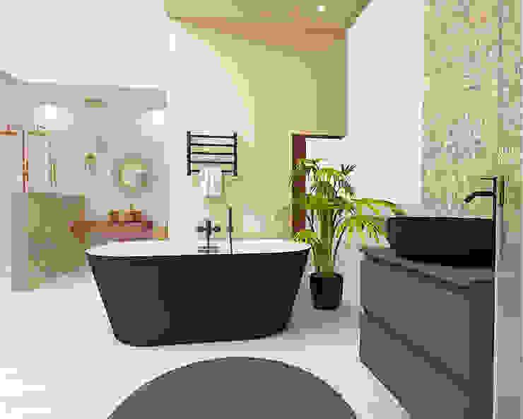 Ambiente 1 - Natura Casas de banho modernas por Smile Bath S.A. Moderno